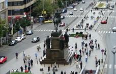 Felgyújtotta magát egy férfi a prágai Vencel téren