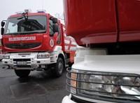 Gázrobbanás történt a Kőbányai úti piacon