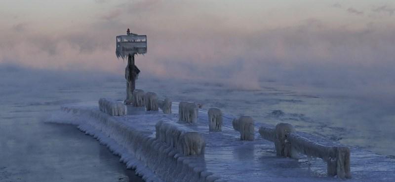 Amerikában most hidegebb van, mint az Antarktiszon vagy Szibériában