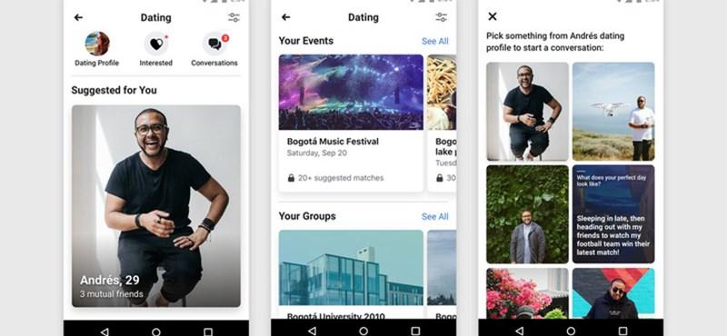Retteghet a Tinder, elindult a Facebook társkereső funkciója