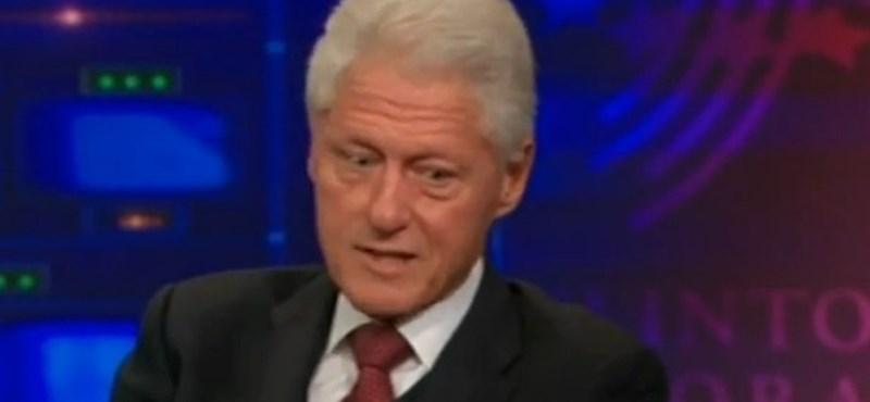 Orbánról csúnyákat mondott Bill Clinton – videó
