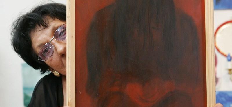 Elhunyt Omara, az ismert roma festőművész
