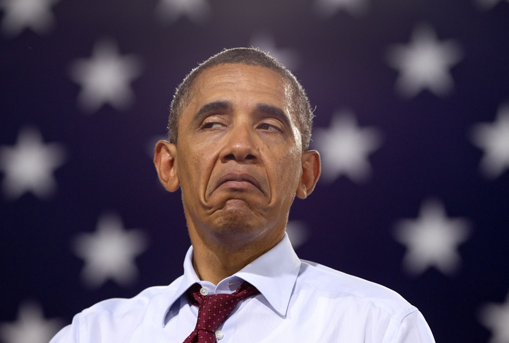 Obama elnök nincs lenyűgözve Windhamban tartott kampánybeszéde után