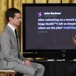 Obama a Twitteren védte költségvetési stratégiáját