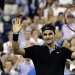 Keményen megizzasztotta Federert egy 19 éves