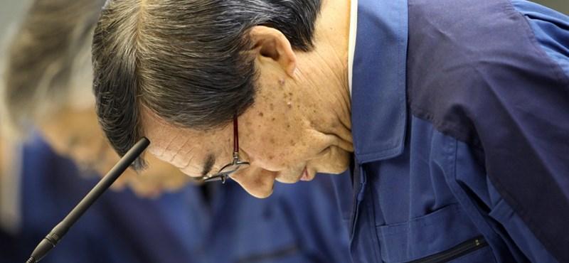 Fukusima: lemond az atomerőművet üzemeltető Tepco elnöke