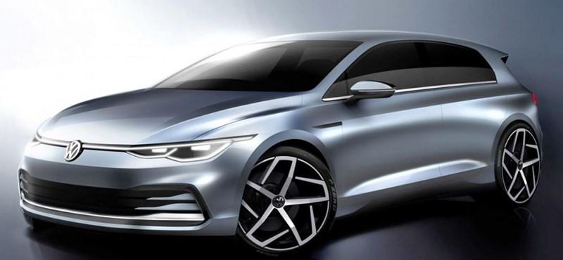 A Volkswagen megmutatta, milyen lesz az új Golf