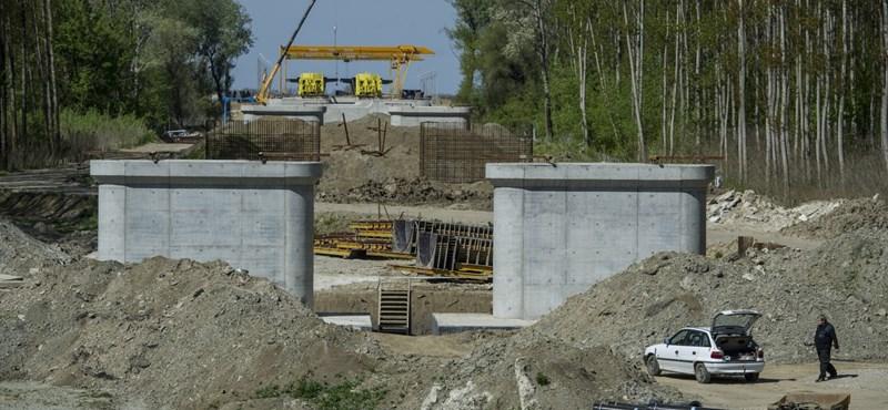 Továbbra is csak lábadozik az építőipar