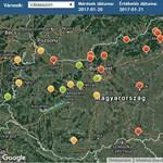Veszélyes lett Budapest levegője is