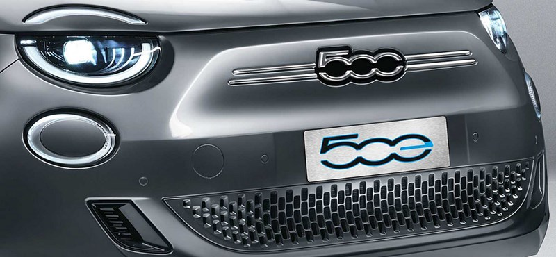 Íme a teljesen új Fiat 500e: retró villanyautó a javából