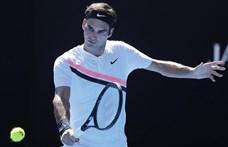 Federer kiesett az Australian Openen