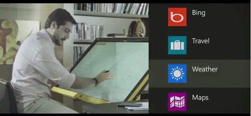 Itt a világ első Windows 8.1-et futtató televíziója
