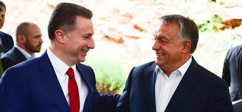 """Fotót közölt egy albán lap a """"magyar diplomataautót"""" vezető Gruevszkiről, de tévedett"""