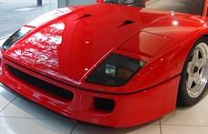 Ausztriában kínálnak eladásra egy alig használt legendás Ferrari F40-et
