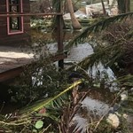 Richard Branson túlélte a hurrikánt, és most megmutatja a pusztítást