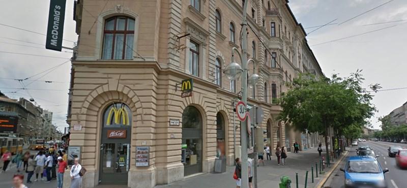 Bezár egy időre a Blaha Lujza téri McDonald's