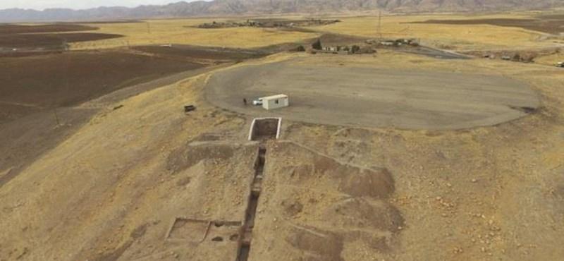 Izgalmas felfedezés: 4800 éves ősi palotát találtak Irakban – fotó, videó
