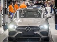 Leáll a termelés tíz napra a kecskeméti Mercedes-gyárban