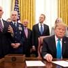 Trump alelnökével, Mike Pence-szel indul újra 2020-ban a választáson