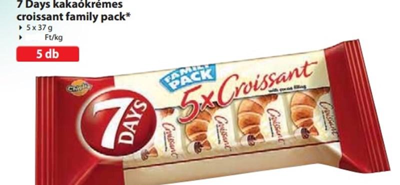 Fémdarab lehet ebben a croissant-ban, ne egye meg - fotó