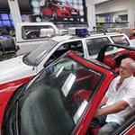 A kéményseprőnél jártunk, aki 116 darab különleges VW Golfot gyűjtött össze
