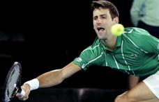 Ausztrál open: már 72 teniszező van karanténban