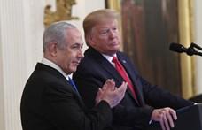 Trump 80 oldalas béketervet mutatott be a palesztin-izraeli konfliktus rendezésére