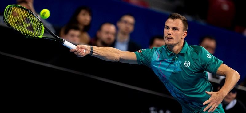 Fucsovics Márton karriercsúccsal a 31. a férfi teniszezők világranglistáján