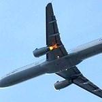 Kigyulladt a Lufthansa Frankfurtba tartó gépének motorja