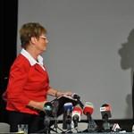 Kemény hangú levelet küldött Hoffmann Rózsa a tiltakozó tanároknak