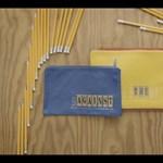Kedves stop motion videóklip ceruzákból (videó)