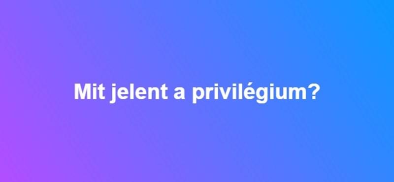Mit jelent a privilégium?