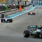 Rosberg lett a király a Kínai Nagydíj időmérőjén
