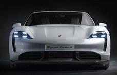 Nagyobb hatótávra képesek az új Porsche Taycan villanyautók