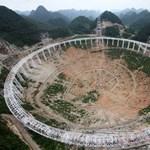 Mától földönkívüliekkel kommunikál Kína