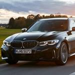 Szupererős dízel családi kombi a BMW-től