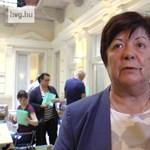 Nem nagyon érti Pálffy Ilona, miért gond, hogy csak döcög az NVI honlapja – videó