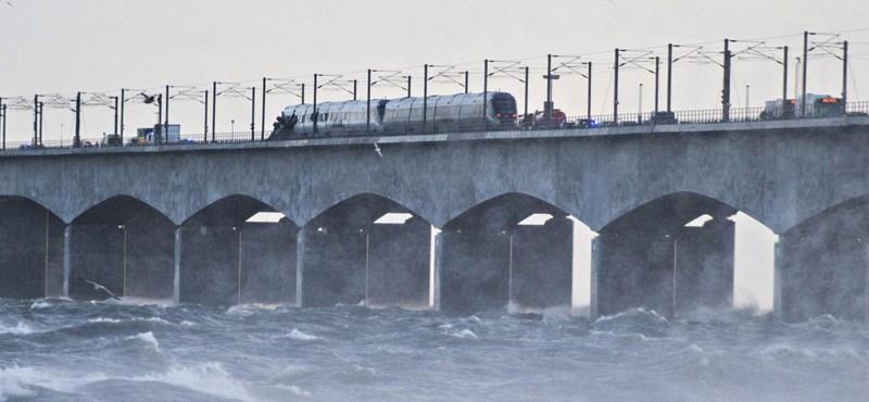 Súlyos vonatbaleset történt Dániában, többen meghaltak