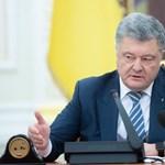 Az ukrán elnök aláírta a hadiállapot bevezetéséről szóló jogszabályt