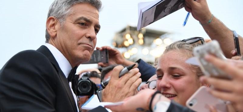 Nem filmnek köszönheti George Clooney, hogy ő keres a legjobban