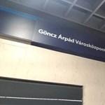 Hivatalosan is Göncz Árpád városközpontnak hívnak egy metrómegállót