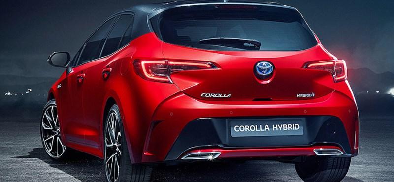 Itt az új Toyota Corolla, nem lesz többé Auris és dízelmotor sem