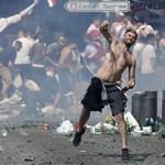 Videó: Egyre félelmetesebb a hangulat Marseille-ben, egy szurkoló életveszélyben