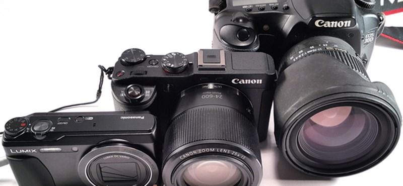 Teszteltük a kompakt méretű profi digitális fényképezőgépet