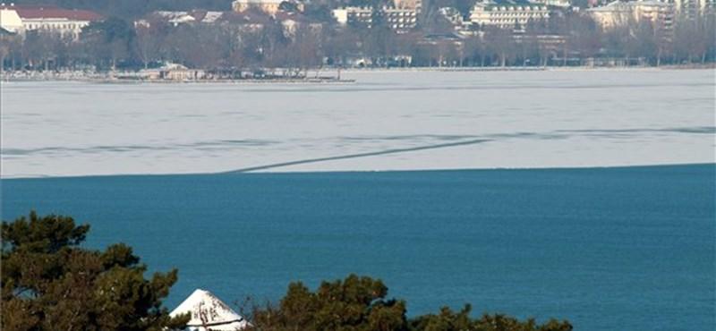 Egy hét alatt négy centit emelkedett a Balaton vízszintje