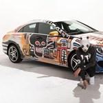 Ezért ne bízzuk egy német rapperre a Mercedes CLA festését