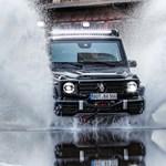 Robbantások ellen is véd a páncélozott új Mercedes G-osztály