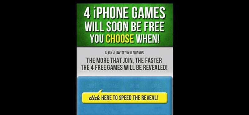 Kultikus iPhone-játékok ingyen, avagy hogyan szerezzünk rajongókat