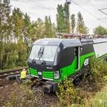 Elszabadult egy mozdony Ferencvárosban, nagy a káosz - fotók