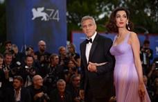 George Clooney és felesége milliós adományt küldenek Bejrútba